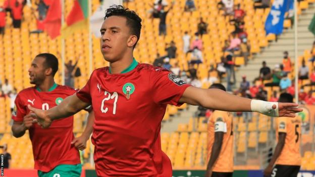 Morocco's Soufiane Rahimi