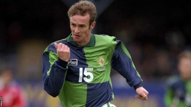 Midfielder O'Neill made 31 appearances for Northern Ireland
