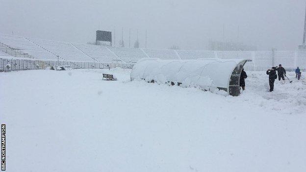 Timisoara snow