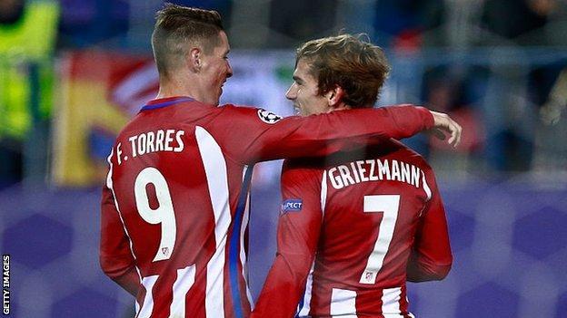 Torres and griezmann