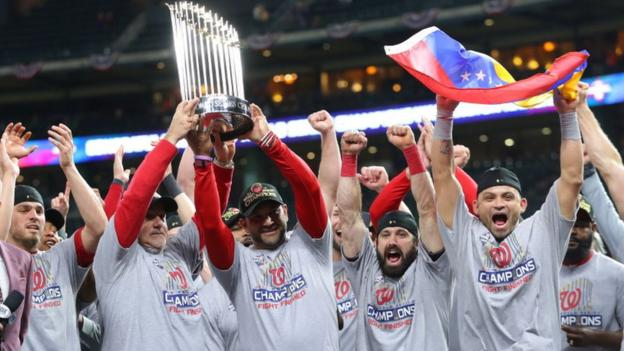 Washington claim first World Series title after historic win in Houston
