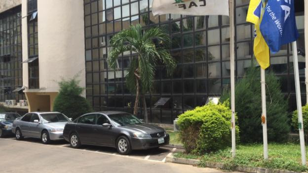 Nigerian Football Federation office