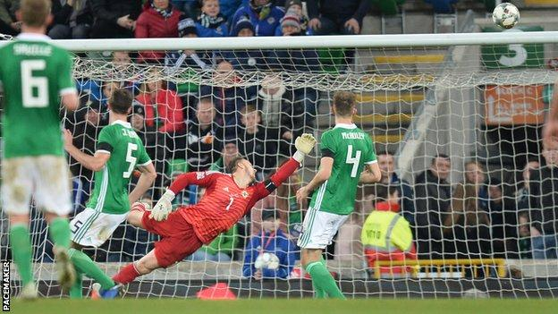 UEFA Nations League 2018 Report: Northern Ireland 1 Austria 2 - Late Austria winner ensures Northern Ireland finish with zero points
