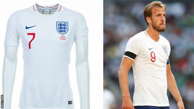 England and Harry Kane