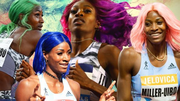 Shaunae Miller-Uibo hairstyles
