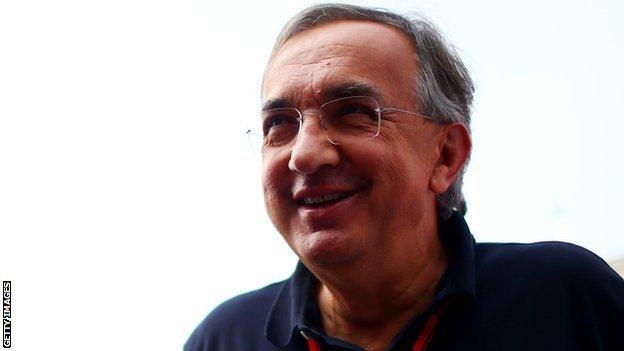 Ferrari and Fiat chief Sergio Marchionne
