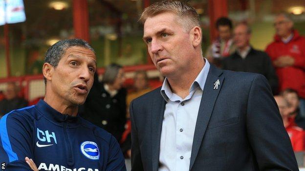 Dean Smith (right)