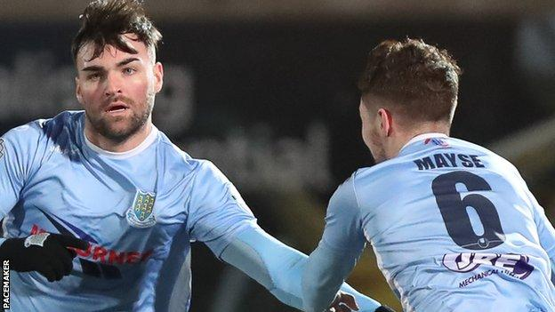 Ballymena dropped points for the first time in 10 Premiership matches