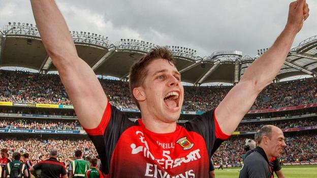 Lee Keegan was the GAA's 2016 Player of the Year and has had another influential summer in Mayo's rollercoaster run to the All-Ireland final
