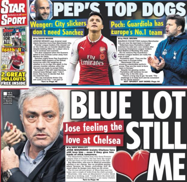Daily Star on Saturday