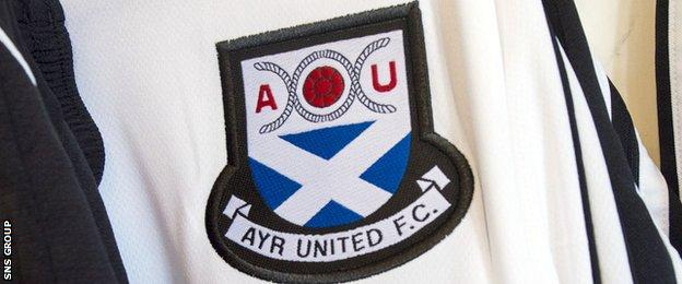 Ayr United have been using a saltire on their crest since the 1950s