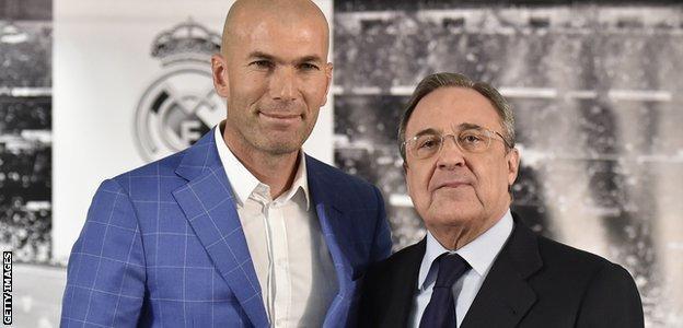 Zidane and Perez