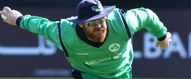 Paul Stirling will captain Ireland in India