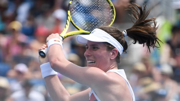 Australian Open 2019: Johanna Konta through after epic tussle with Ajla Tomljanovic thumbnail