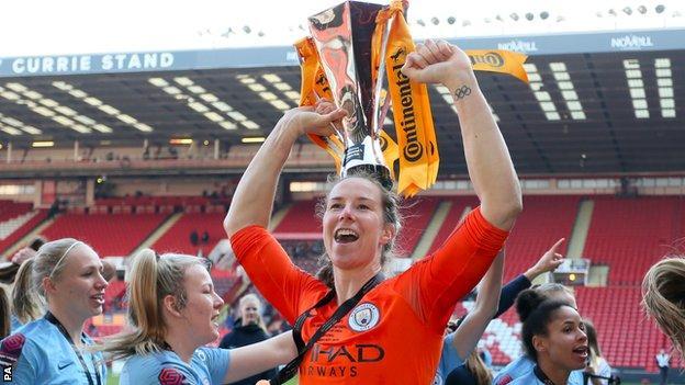 Manchester City Women goalkeeper Karen Bardsley