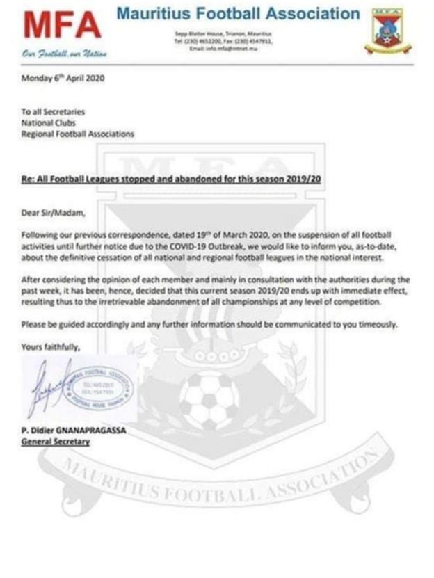 Mauritius press release