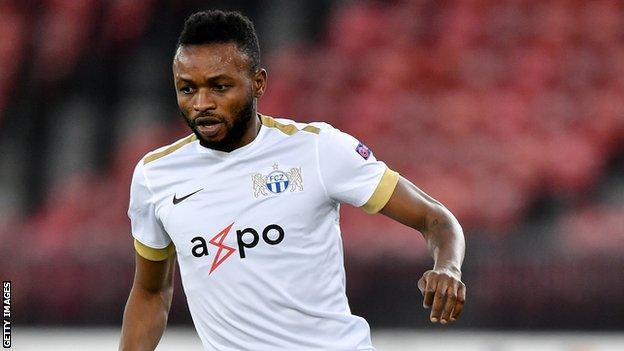 Sierra Leone captain Umaru Bangura