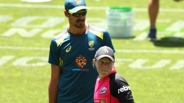 Women's T20 World Cup: Mitchell Starc leaves tour to watch wife Alyssa Healy thumbnail