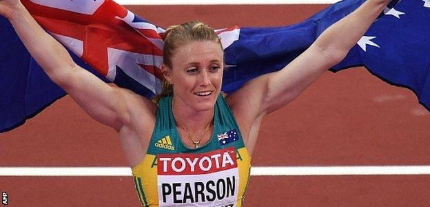 Sally Pearson is one of Australia's leading medal hopes