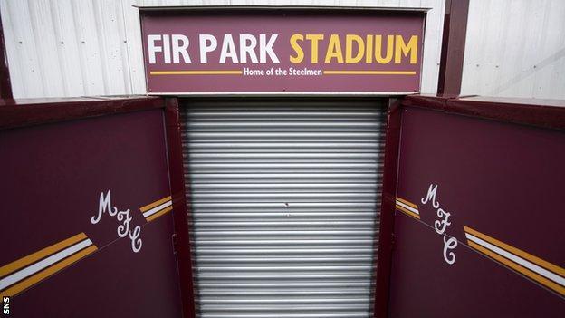 Fir Park shutters