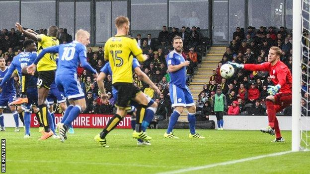 Lucas Akins goal