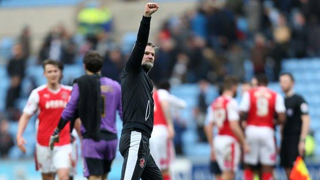 Fleetwood's first win over Coventry was a personal triumph for former Sky Blues boss Steven Pressley on his return to the Ricoh Arena