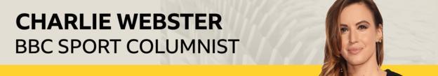 Charlie Webster column banner