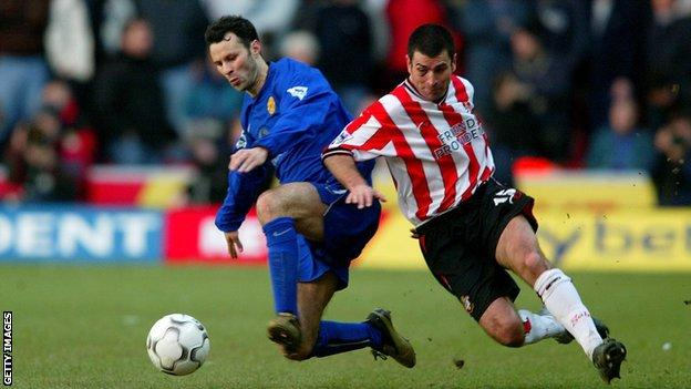 Ryan Giggs and Francis Benali