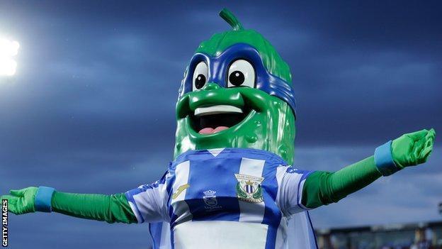 mascot of Leganes
