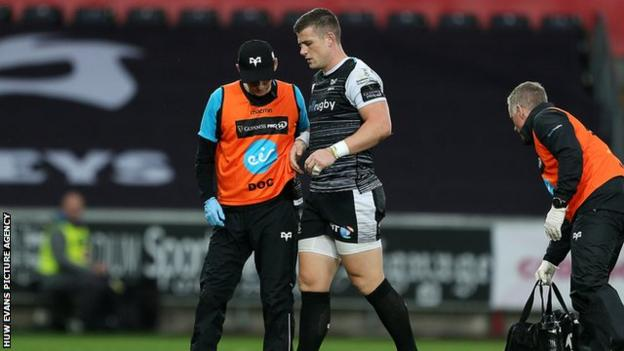 Scott Williams joined the Ospreys from Scarlets