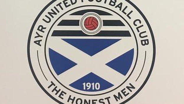 Ayr United badge