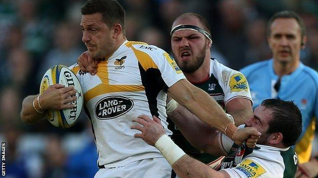 Wasps stand-off Jimmy Gopperth