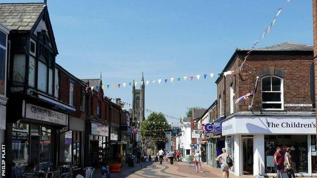 Visiting Football Fans Told To Stay Away From Town Centre By Chorley Council Bbc Sport