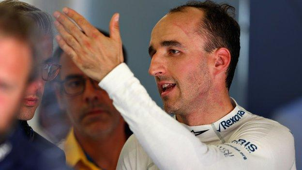 Robert Kubica of Williams