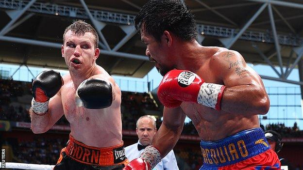 Horn took the title with a unanimous points win in Brisbane
