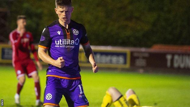 Cammy Smith's double helped Dundee United thrash Brechin