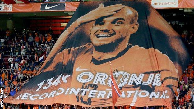 Wesley Sneijder banner