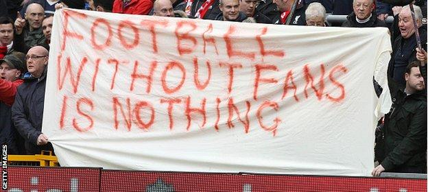 Liverpool fans staged a walkout over ticket prices and won their battle with the club's owners