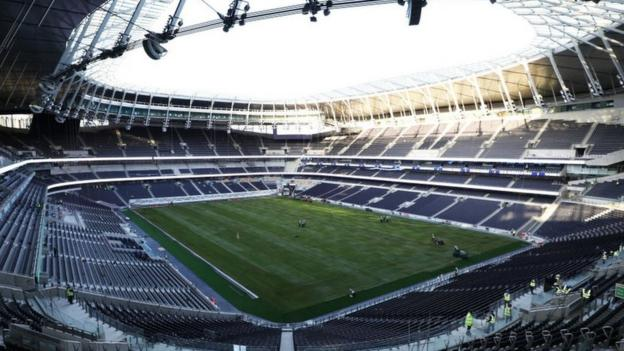 Tottenham stadium: London derby with Arsenal on 2 March to be played at Wembley thumbnail