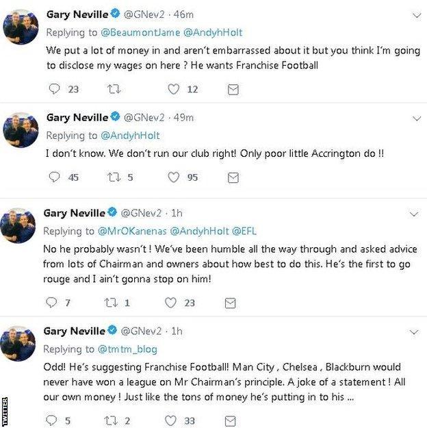 Gary Neville on Twitter