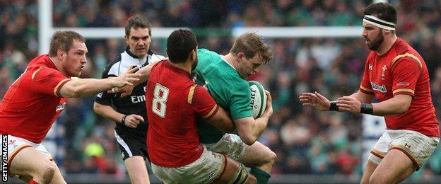 Wales drew 16-16 with Ireland in Dublin