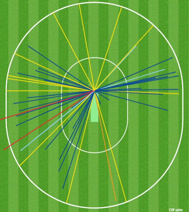 Moeen Ali wagon wheel