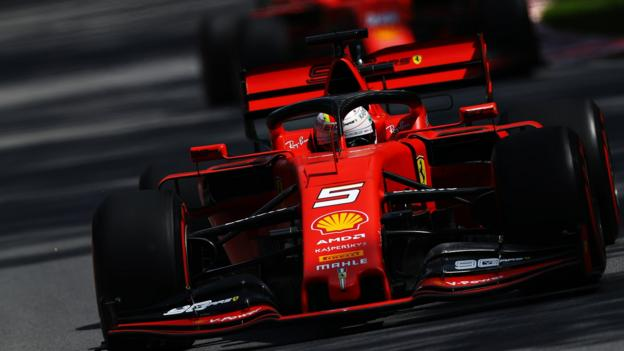 Lewis Hamilton crashes as Ferrari top Canada practice thumbnail
