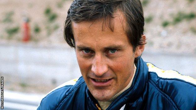 Former Formula 1 racing driver Mike Beuttler