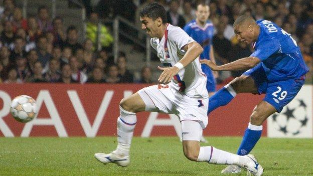 Daniel Cousin goal v Lyon
