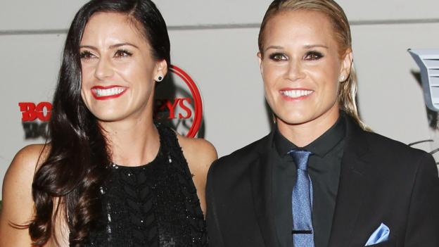 Ali Krieger and Ashlyn Harris: USA's World Cup winners announce engagement thumbnail