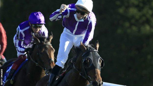 Breeders' Cup: Order of Australia wins first Mile for Aidan O'Brien