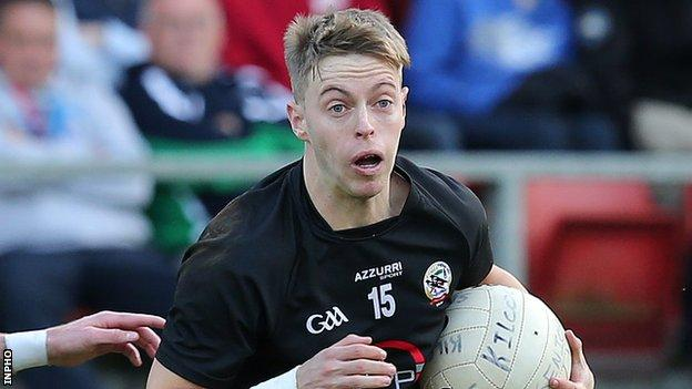 Jerome Johnston hit Kilcoo's crucial goal against Magherafelt