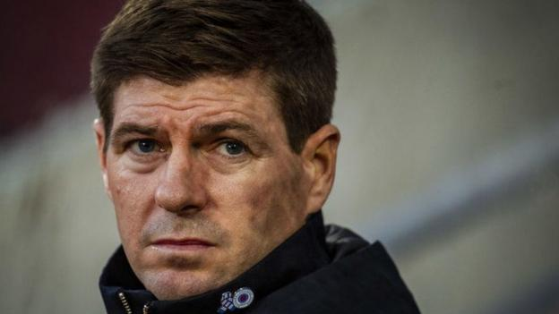 Rangers: Steven Gerrard in pain after Hearts inflict Scottish Cup exit thumbnail