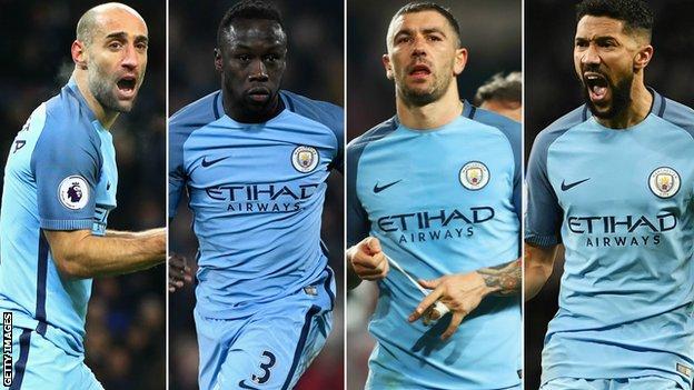 Manchester City full backs